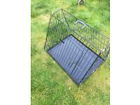 Dog cage medium