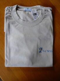 Princes Cruises Norway T shirt New unworn Size L