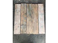 Rustic Pitch Pine Plank Flooring - 150 m2 in stock!