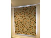 Pair of roman blinds