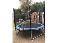 10ft trampoline with surround.