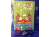 Pack of 2 fun activity books,a copy colour book and a activity book