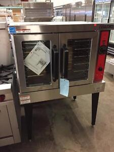 NEW VULCAN FULL SIZE CONVECTION OVEN WITH DOUBLE GLASS DOORS - NATURAL GAS/PROPANE/ELECTRIC
