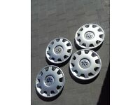 vw wheeltrims £10
