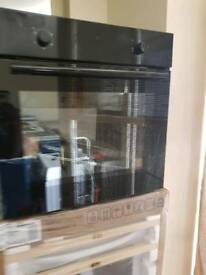 LOGIKLBFANB16 Electric Oven - Black