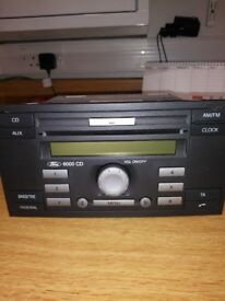 Ford cd 6000 radio cd player