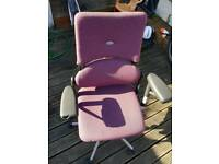 For sale is a Steelcase Strafor office chair.