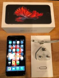 Excellent condition 64Gb iPhone 6s, factory unlocked, works as brand new incl. battery life