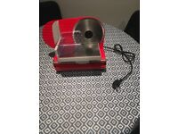 Red Andrew James Meat Slicer