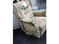 Mobility riser recliner chair exdisplay model