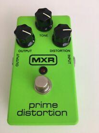 MXR Prime distortion M69G Pedal-Mint condition