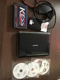Delphi diagnostic appointment KESS V2 Master remap kit + Toshiba laptop