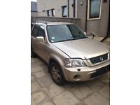 HONDA 4x4 HRV AND CRV BREAKING OR SELL HOLE