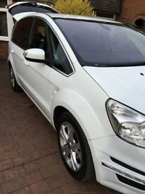 Pristine Condition Ford S Max 1 Year MOT 7 Seats Parking Sensors Alloys 3 USB Points Sony Bluetooth