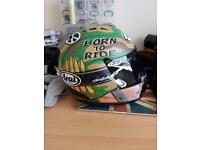 Limited Edition Arai Hayden motorbike helmet | Medium