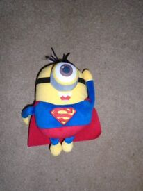 Minions Mini Punchbag & Soft Toy. Excellent Condition
