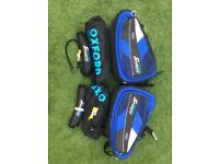 Oxford Sports Expandable Humpback Panniers in Blue