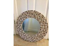 Round Mosaic 51cm Mirror