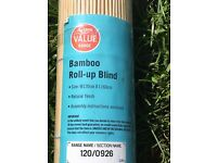 Free to collect Bamboo Blind brand new