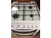 Bush gas cooker, 60cm, with glass lid