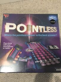 Pointless Board Game - still in cellophane.