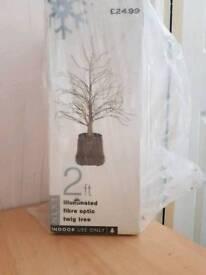 2ft fibre optic twig tree