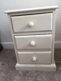 Painted set of drawers