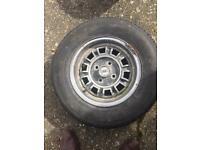 Dunlop Alloy & Steel Wheel - Scimitar SE5a