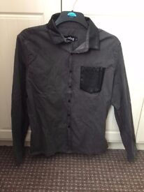 UNOPENED Men's Large Casual Rock/Goth shirt