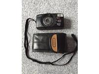 Canon Sure Shot 85 Zoom Camera 35 mm with Leather Case