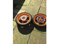 Cbr125 large wheels