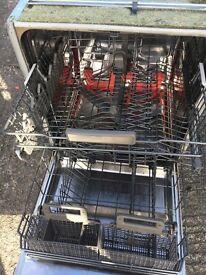 Whirlpool 6th Sense Fully Integrated Dishwasher