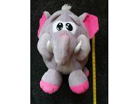 "13"" Round Earl Grey The Elephant"