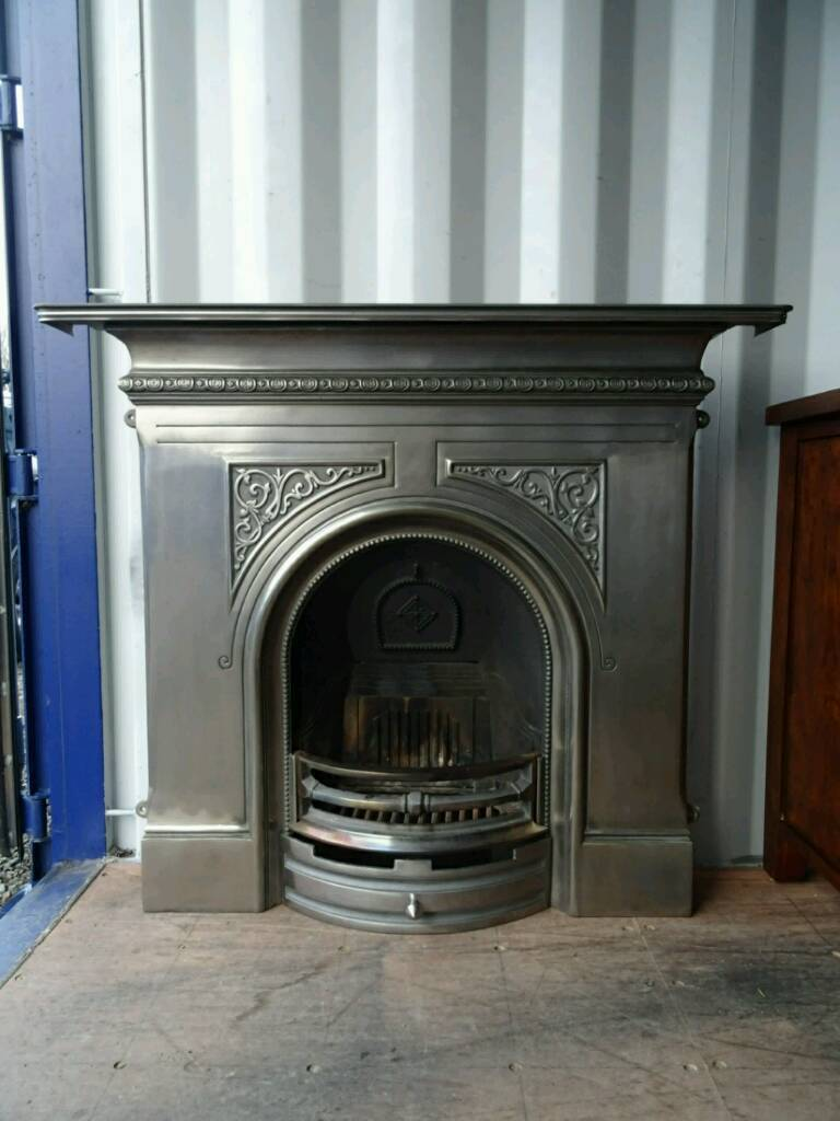 Stunning Cast Iron Fireplace