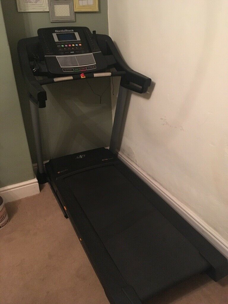 Nordic track c200 folding treadmill (with ifit live compatibility) | in  Llangadog, Carmarthenshire | Gumtree