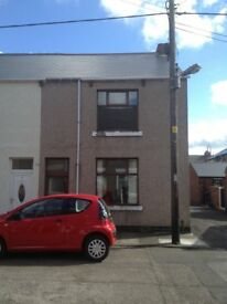Two bed end terrace on Newton Street in Ferryhill LOW FEES DSS WELCOME