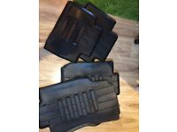 Genuine Nissan X-Trail T 32 Rubber Floor Mats, Front & Rear