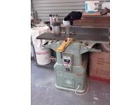 "Wadkin BAOS 12"" x 7"" Planer Thicknesser. Very rare 240V Version."