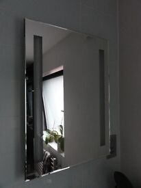 Bathroom Mirror Light With Shaver Socket - RCTM2T8