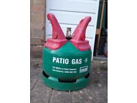 Patio gas cannister