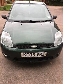FORD FIESTA 2005 1.4 DIESEL £30 ANNUAL ROAD TAX