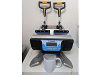 Double Mug Heat Press + Sample Mugs + Boxes