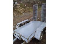 Indespension plant trailer (like ifor williams)