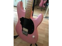 Hello Kitty Fender Squier Stratocaster Electric Guitar Rare New Strings