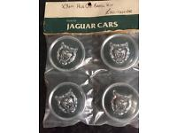 Jaguar Hub Cap Badge Kit