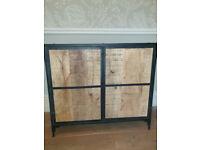 Industrial Metal Wood cupboard