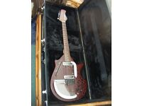 DANELECTRO SITAR PLUS GATOR CASE-IMMACULATE CONDITION-COLLECTION PREFERRED-OFFERS CONSIDERED