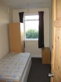 Furnished Single room terraced house off Narborough Rd LE3 (incl bills)