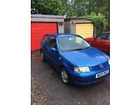 Volkswagen 1.4 6n2 Polo 30 000 miles blue petrol manual