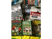 collection of football books